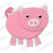 Impression Obsession (IO) Die - Patchwork Pig