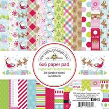 "Doodlebug Design Paper Pad 6x6"" - Night Before Christmas"