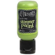Dylusion SHIMMER Paint - Fresh Lime