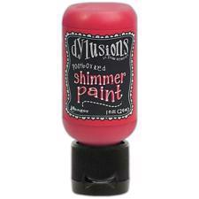 Dylusion SHIMMER Paint - Postbox Red