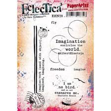 PaperArtsy A5 Cling Stamp - Sara Naumann No. 28 / Imagination