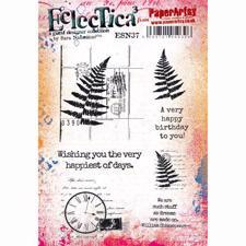 PaperArtsy A5 Cling Stamp - Sara Naumann No. 37 / Wishing you the very