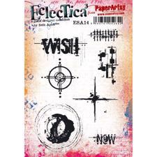 PaperArtsy A5 Cling Stamp - Seth Apter No. 14 / Wish