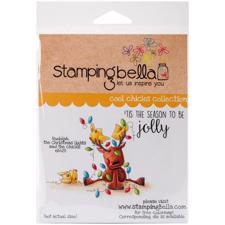 Stamping Bella Cling Stamp - Rudolph, The Christmas Lights & Chicks