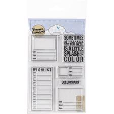 Elizabeth Crafts Planner Essentials - Clear Stamp / Color Chart
