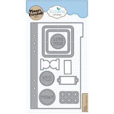 Elizabeth Crafts Planner Essentials - Die Set 1