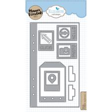 Elizabeth Crafts Planner Essentials - Die Set 4