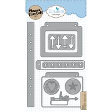 Elizabeth Crafts Planner Essentials - Die Set 5