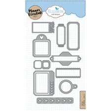 Elizabeth Crafts Planner Essentials - Die Set Labels