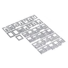 Elizabeth Crafts Planner Essentials - Die Set 17 Filmstrip Numbers