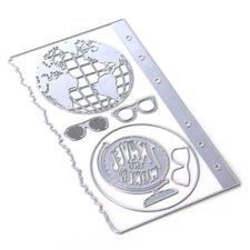 Elizabeth Crafts Planner Essentials - Die Set 28 Globe