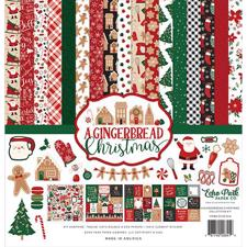 "Echo Park Paper Collection Pack 12x12"" - A Gingerbread Christmas"
