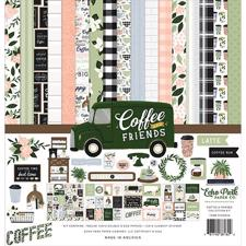 "Echo Park Paper Collection Pack 12x12"" - Coffee & Friends"