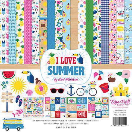 "Echo Park Paper Collection Pack 12x12"" - I Love Summer"