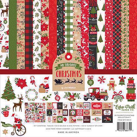 "Echo Park Paper Collection Pack 12x12"" - My Favorite Christmas"