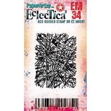 PaperArtsy Mini Cling Stamp - Eclectica (Seth Apter) No. 34