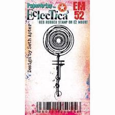 PaperArtsy Mini Cling Stamp - Eclectica (Seth Apter) No. 52