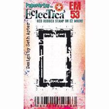 PaperArtsy Mini Cling Stamp - Eclectica (Seth Apter) No. 53