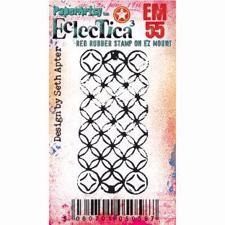 PaperArtsy Mini Cling Stamp - Eclectica (Seth Apter) No. 55