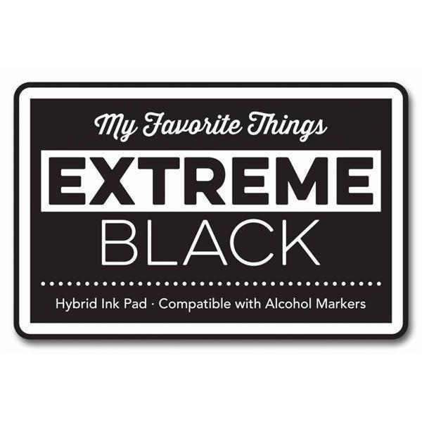 My Favourite Things HYBRID Ink PAD - Extreme Black (sort / stor)