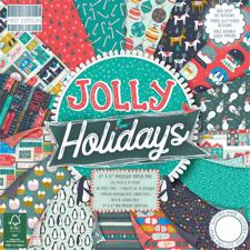 "First Edition Paper Pad 6x6"" - Jolly Holidays"