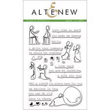 Altenew Clear Stamp Set - Figure Effects