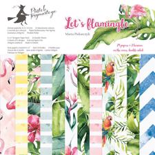 "Piatek Trzynastego Paper Pack 6x6"" - Let's Flamingle"