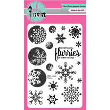 Pink & Main Clear Stamp Set - Flurries