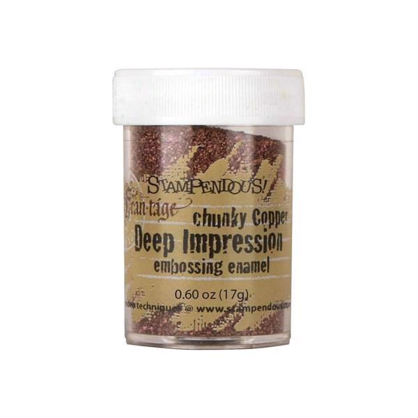 Deep Impressions Embossing Pulver - Chunky Copper