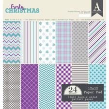 "Authentique Paper Pad 12x12"" - Frosty Winter"