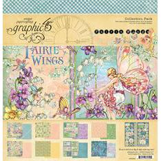 "Graphic 45 Collection Pack 12x12"" - Fairie Wings"