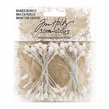 Tim Holtz / Idea-ology Christmas 2019 - Beaded Berries