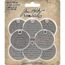 Tim Holtz / Idea-ology - Quote Tokens