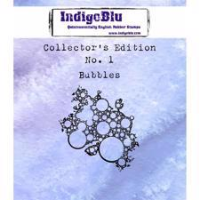 Indigo Blu Cling Stamp - Collectors Edition 1 - Bubbles