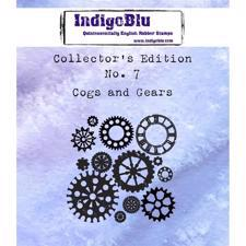 Indigo Blu Cling Stamp - Collectors Edition 7 - Cogs & Gears