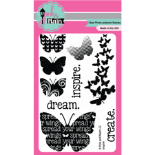 Pink & Main Clear Stamp Set - Inspire