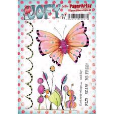 PaperArtsy A5 Cling Stamp - JOFY No. 79 (Butterfly)