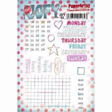 PaperArtsy A5 Cling Stamp - JOFY No. 88 / Days