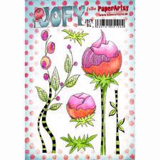 PaperArtsy A5 Cling Stamp - JOFY No. 94 / Tall Flowers