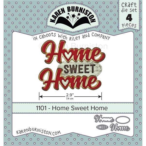 Karen Burniston Die - Home Sweet Home