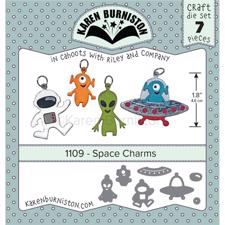 Karen Burniston Die - Space Charms
