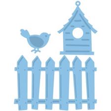 Creatables - Birdhouse & Fence