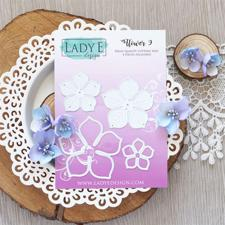 Lady E Design Dies - Flower 9