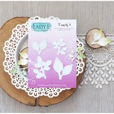 Lady E Design Dies - Leaves 8