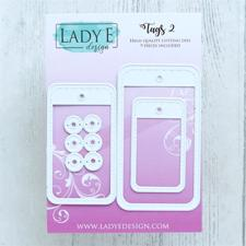 Lady E Design Dies - Tags 2