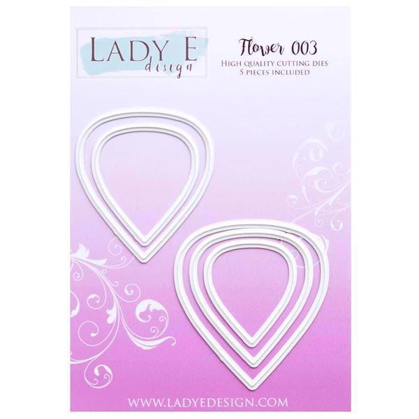 Lady E Design Dies - Flower 003 (smooth petals)