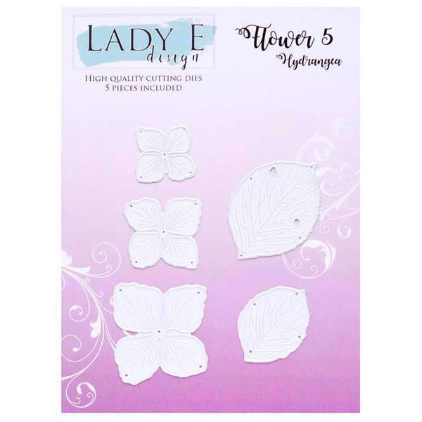 Lady E Design Dies - Flower 005 (Hydrangea)