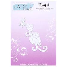 Lady E Design Dies - Leaf 5 (swirl)