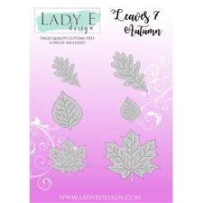 Lady E Design Dies - Leaves 7 Autumn