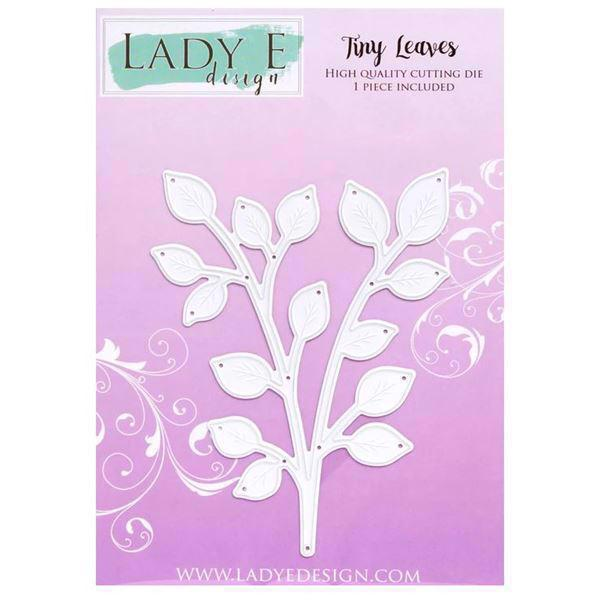 Lady E Design Dies - Tiny Leaves